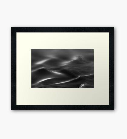 Flowing Clouds Framed Print
