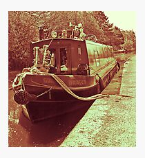 barge. Photographic Print