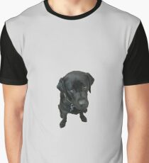 Black Labrador Graphic T-Shirt
