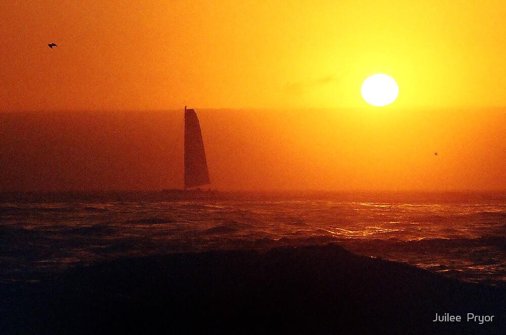 golden sails by Juilee  Pryor