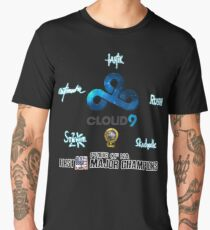 Cloud 9 - First NA CS:GO Major Champions Men's Premium T-Shirt