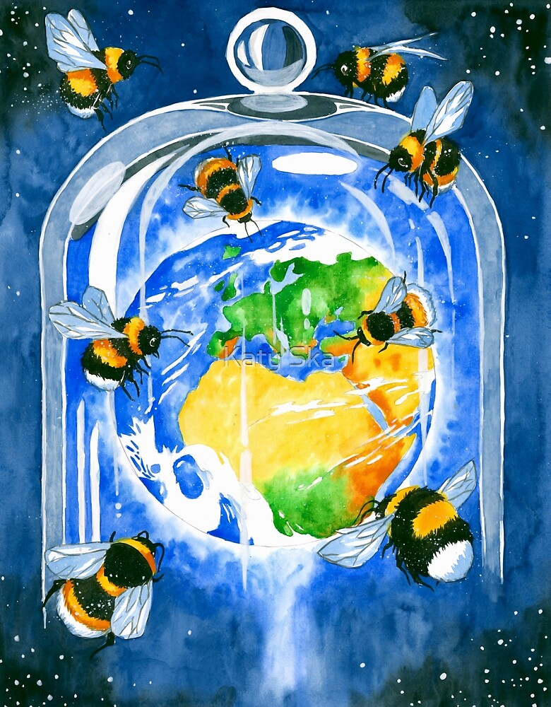 save the bees by Katy Ska