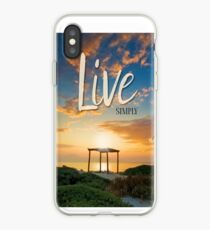 Live Laugh Love - Give Back to Nature iPhone Case