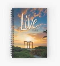 Live Laugh Love - Give Back to Nature Spiral Notebook