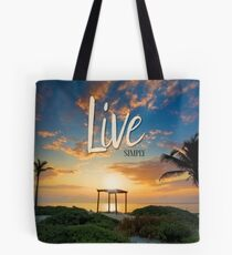 Live Laugh Love - Give Back to Nature Tote Bag