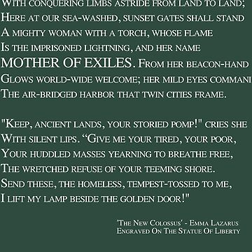 Mother Of Exiles by TransCyclist