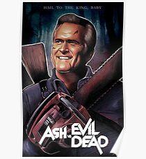 Ash gegen Evil Dead Fanart Poster