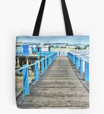 Board Walk Tote Bag