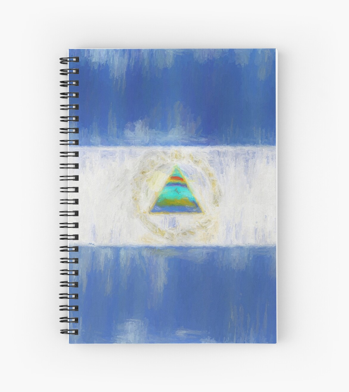 Nicaragua Flag Reworked No. 1, Series 2 von 8th-and-f