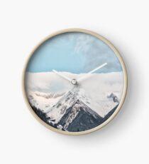 Beautiful Mountains and Blue Sky Clock