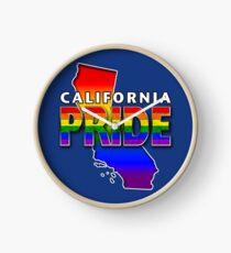 State PRIDE - California Clock