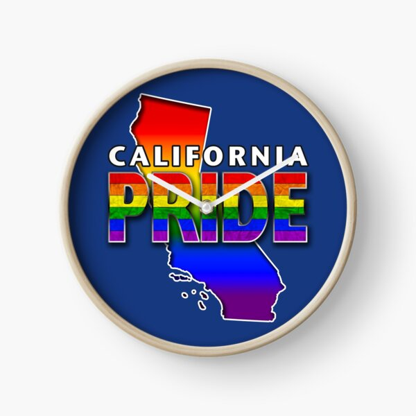 State PRIDE - California Clock
