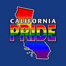 State PRIDE - California by technoqueer