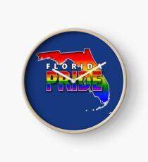 State PRIDE - Florida Clock