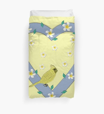 Spring is Coming! Duvet Cover