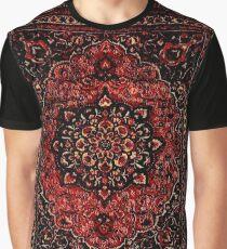 Persian carpet look in rose  Graphic T-Shirt
