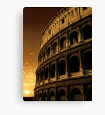 colosseum sunrise Canvas Print