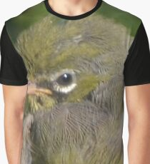 Silvereye close-up Graphic T-Shirt