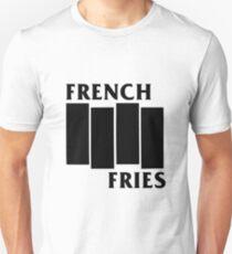 French Fries- Black Unisex T-Shirt