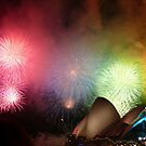 Fireworks Over Opera House by SeeingTime