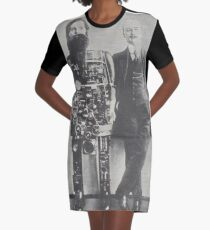 SteamPunk Graphic T-Shirt Dress