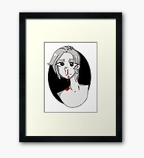Bloody Nose Framed Print