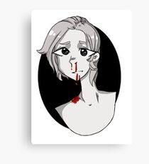 Bloody Nose Canvas Print