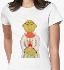 Bunsen and Beaker Womens Fitted T-Shirt