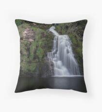 Assaranca Waterfall, Ardara Throw Pillow