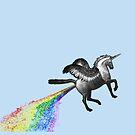 Gay Pegasus Unicorn by technoqueer