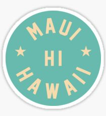Maui - Hawaii Sticker