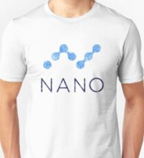 Vintage NANO Coin Cryptocurrency Unisex T-Shirt