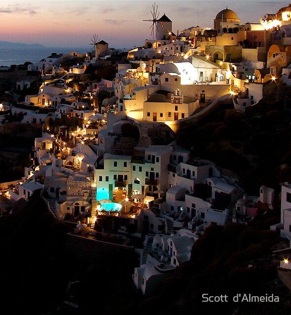 NIGHT IN GREECE by Scott  d'Almeida