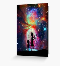 Rick And Morty Trendy IPhone Case Greeting Card