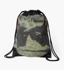 Lunch Time Spar Drawstring Bag