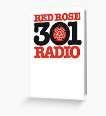 Red Rose Radio - Preston's finest MW station of the 1980s Greeting Card