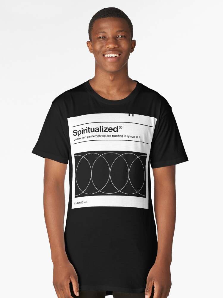 Ladies and Gentlemen Tablet (Spiritualized Trip) Long T-Shirt Front