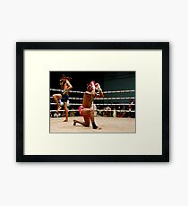 Pre Fight Framed Print