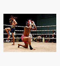 Pre Fight Photographic Print