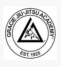 Gracie Jiu-Jitsu Academy Photographic Print