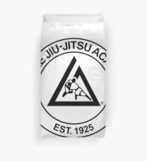 Gracie Jiu-Jitsu Academy Duvet Cover