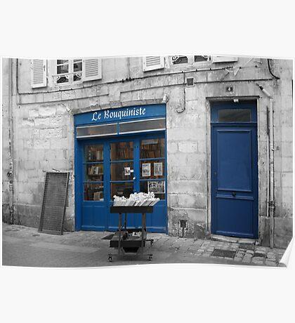 Le Bouquiniste - La Rochelle Poster