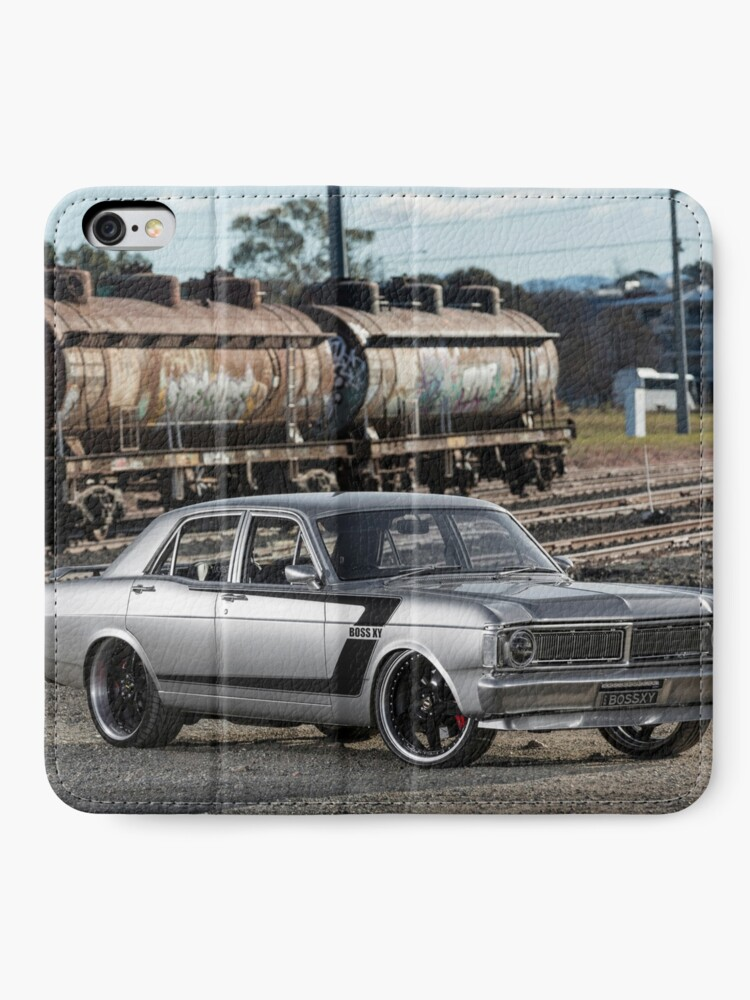 Alternate view of Steve Santos' XY Ford Falcon iPhone Wallet