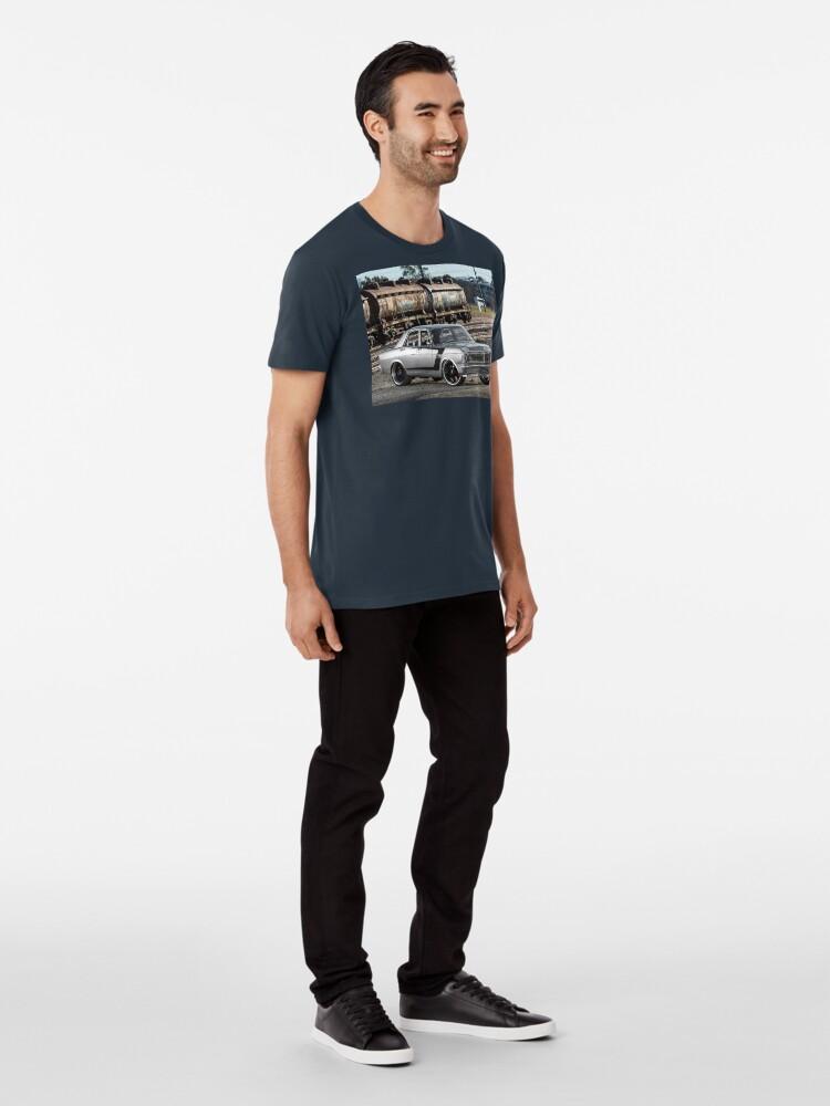 Alternate view of Steve Santos' XY Ford Falcon Premium T-Shirt