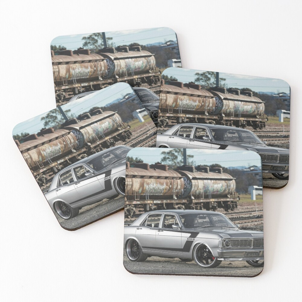 Steve Santos' XY Ford Falcon Coasters (Set of 4)
