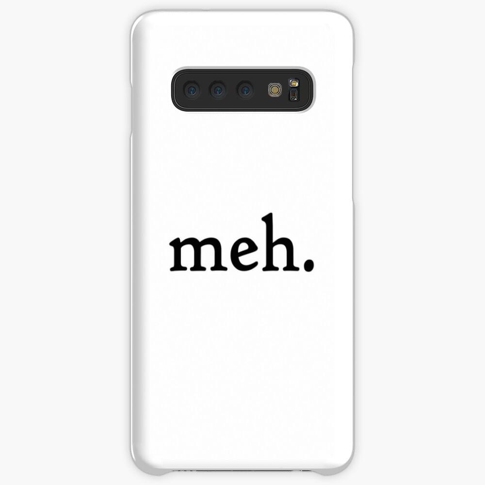 meh. Linie Hülle & Klebefolie für Samsung Galaxy