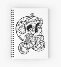 Tentacle Skull Spiral Notebook