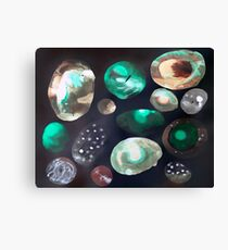 space rocks Canvas Print