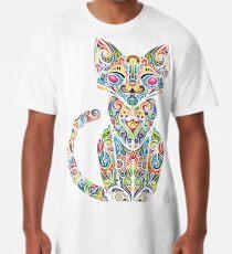 Motley Cat - Colores Long T-Shirt