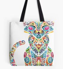 Motley Cat - Colores Tote Bag